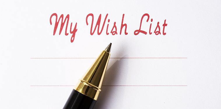 La lista dei desideri