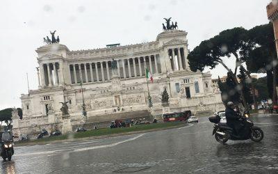 Ad maiora!  Nella città eterna: Roma