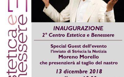 Estetica e Benessere vi invita all'inaugurazione!